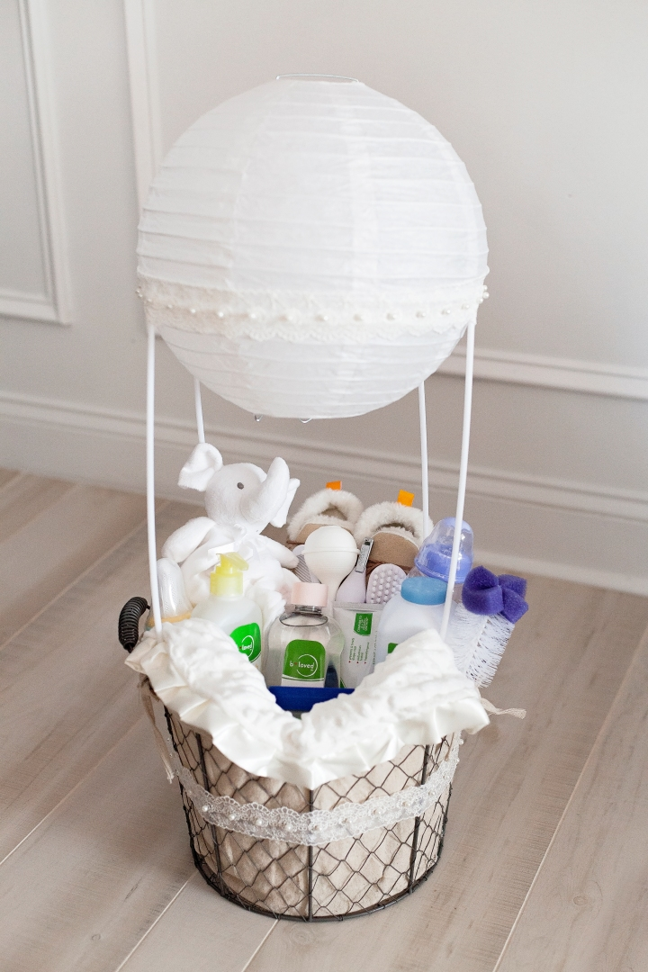 Diy baby shower gift baskets negle Images